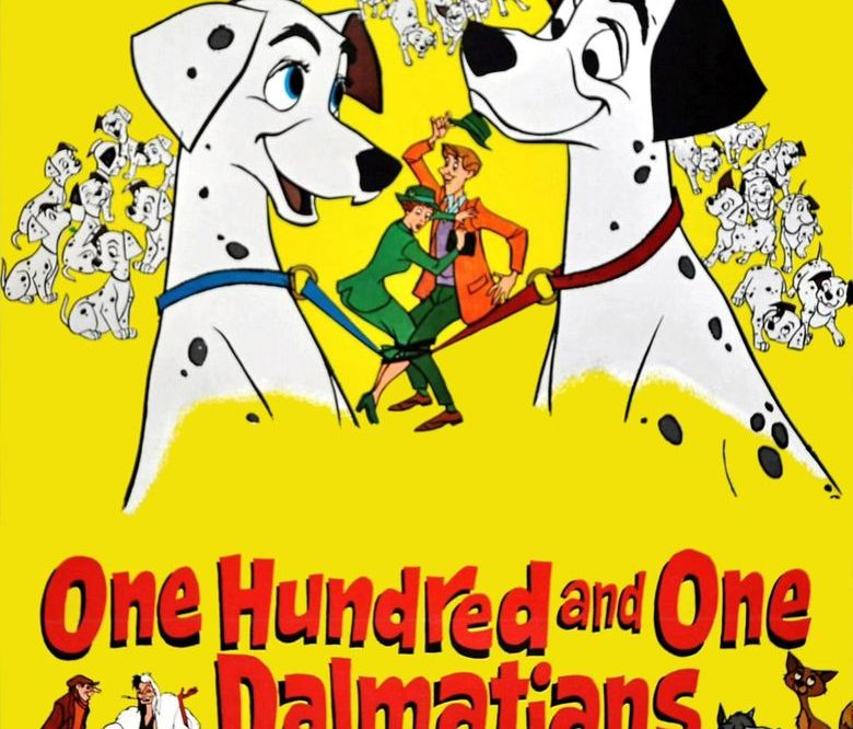 One Hundred And One Dalmatians 1961 35c